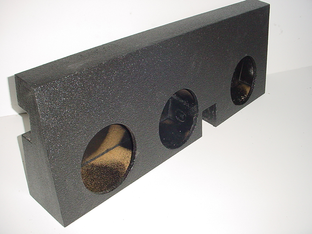 05-2012 Toyota Tacoma Double Cab Triple Sub Box