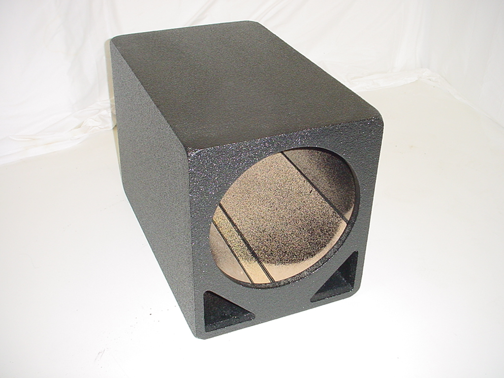 1x12'' Double slot ported Poly sub box
