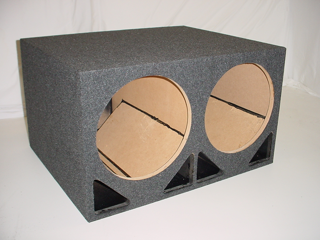 2x12'' Four ported sub box