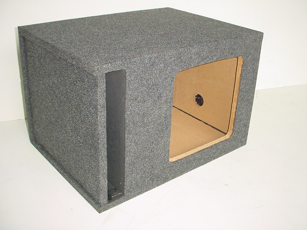 Single 12'' L7 Kicker Slot Ported Sub Box