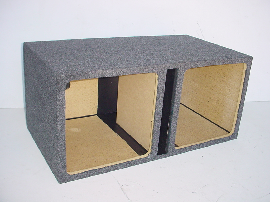 Dual 15'' Kicker L7 Sloted Port Sub Box