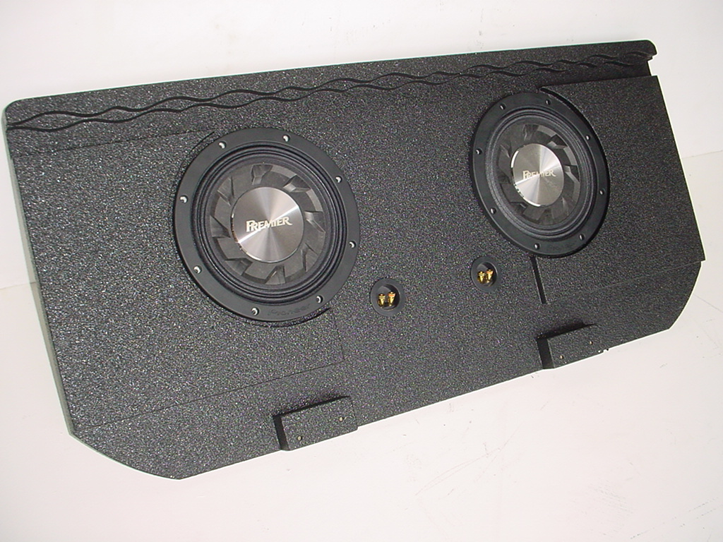 02-2016 Chevy Avalanche Cadillac Ext. shallow Poly Sub Box 2x10