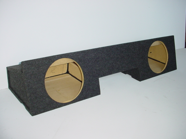 99-2006 Chevy Extended Cab 2-12''subwoofer box