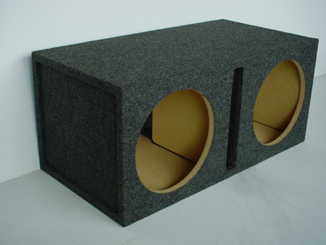 Dual 12'' Slot Ported (3.47 Cu. Ft.) Sub Box