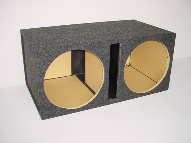 Dual 15'' Slot Ported Sub Box