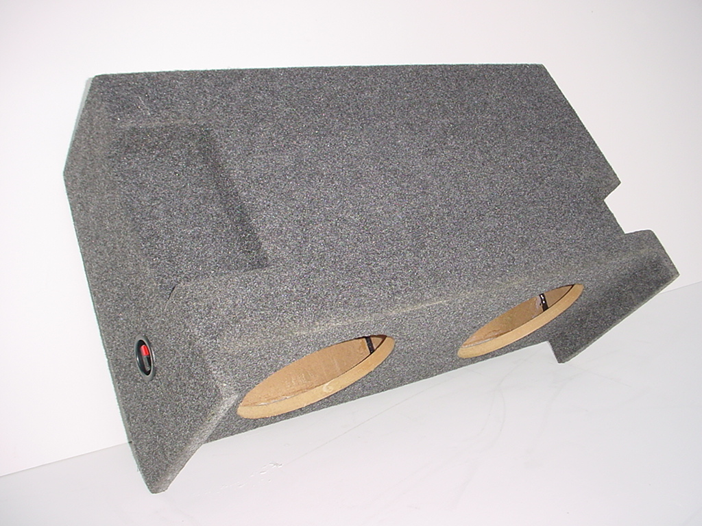 "Jeep Wrangler 2-10"" All Years JUMBO Box Sub Box"