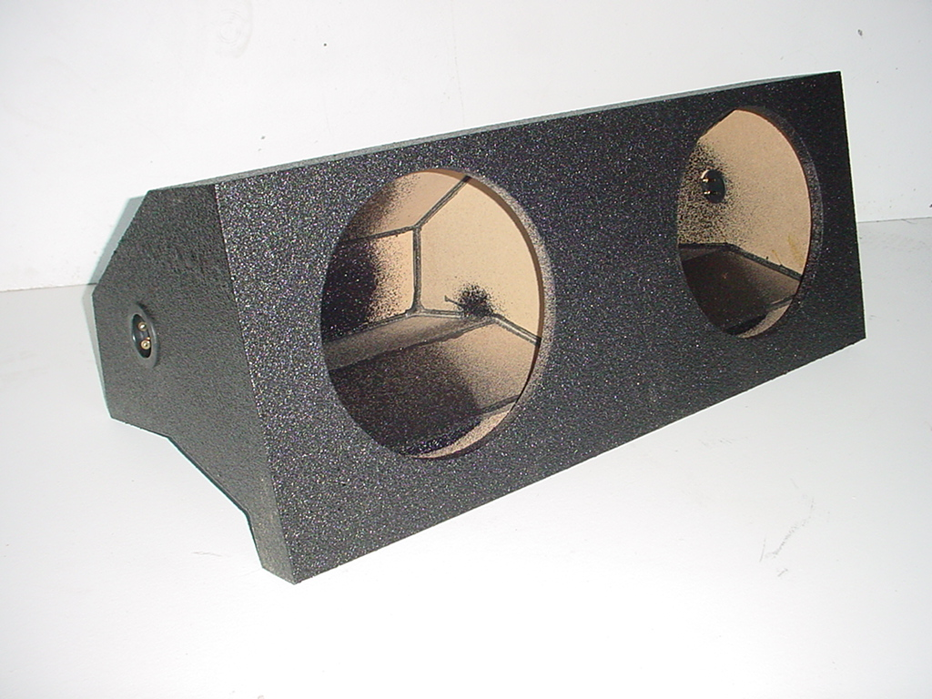 2005-2009 Ford Mustang Pro-Poly Jumbo  Sub Box 2X12