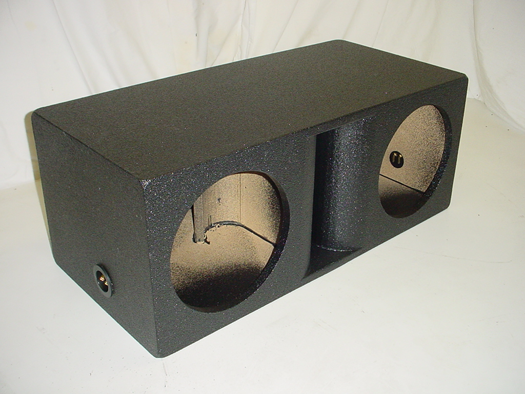2-12'' Horn Ported Subwoofer Box