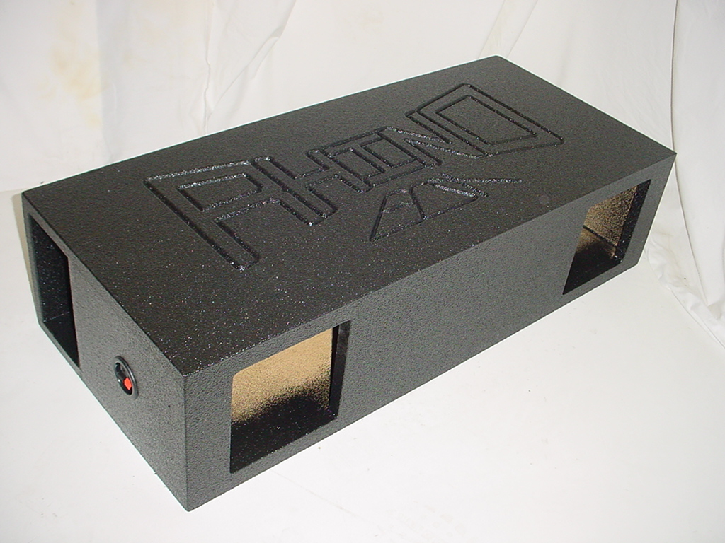 Horn Ported 2-8''Solobaric subwoofer box
