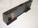 2008-2013 Chevy Crew cab Ported poly Subwoofer Box Sub Box