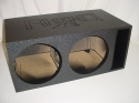 2-15'' Mega bass Horn Ported Sub Box Subwoofer Box