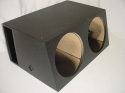 Dual 15'' Horn Ported Subwoofer Box Sub Box