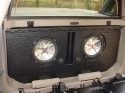 2002-2013 Chevy Avalanche or Cadillac EXT Poly Slot Port Sub Box