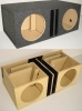 Dual 12'' Transmission Line Advanced Slot Ported Sub Box