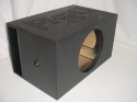 Single 15'' Horn Port Super Base Pro Poly Subwoofer Box Sub Box