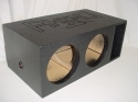 Horn Ported Mega Bass 2-12'' Subwoofer box Sub Box